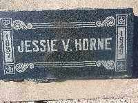 HORNE, JESSIE VANCE - Mohave County, Arizona | JESSIE VANCE HORNE - Arizona Gravestone Photos