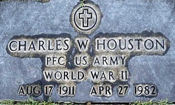 HOUSTON, CHARLES W - Mohave County, Arizona | CHARLES W HOUSTON - Arizona Gravestone Photos