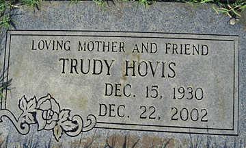 HOVIS, TRUDY - Mohave County, Arizona   TRUDY HOVIS - Arizona Gravestone Photos