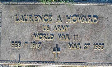 HOWARD, LAURENCE A - Mohave County, Arizona | LAURENCE A HOWARD - Arizona Gravestone Photos