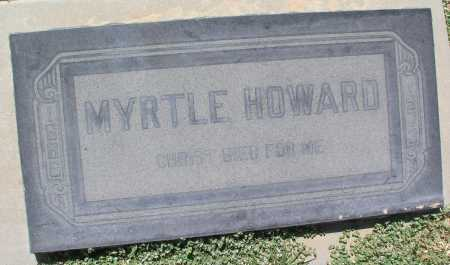 HOWARD, MYRTLE - Mohave County, Arizona | MYRTLE HOWARD - Arizona Gravestone Photos