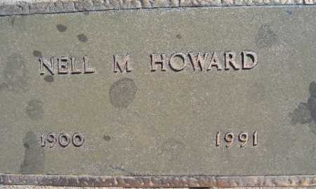 HOWARD, NELL M - Mohave County, Arizona   NELL M HOWARD - Arizona Gravestone Photos
