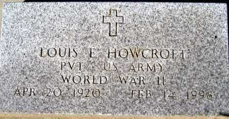 HOWCROFT, LOUIS E - Mohave County, Arizona | LOUIS E HOWCROFT - Arizona Gravestone Photos