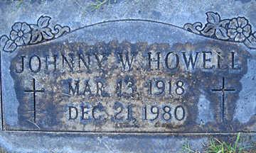 HOWELL, JOHNNY W - Mohave County, Arizona | JOHNNY W HOWELL - Arizona Gravestone Photos