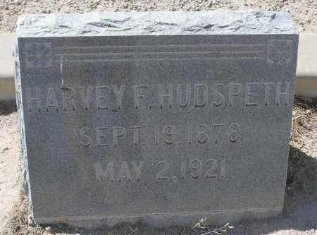HUDSPETH, HARVEY F. - Mohave County, Arizona   HARVEY F. HUDSPETH - Arizona Gravestone Photos