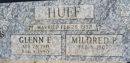 HUFF, MILDRED P - Mohave County, Arizona | MILDRED P HUFF - Arizona Gravestone Photos