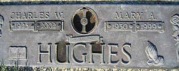 HUGHES, MARY A - Mohave County, Arizona | MARY A HUGHES - Arizona Gravestone Photos