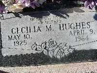 HUGHES, CECILIA M - Mohave County, Arizona   CECILIA M HUGHES - Arizona Gravestone Photos