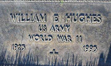 HUGHES, WILLIAM E - Mohave County, Arizona   WILLIAM E HUGHES - Arizona Gravestone Photos