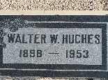 HUGHES, WALTER W - Mohave County, Arizona | WALTER W HUGHES - Arizona Gravestone Photos