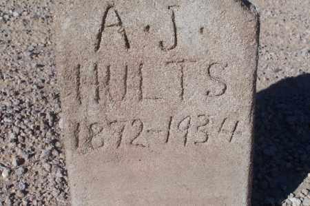 HULTS, A.J. - Mohave County, Arizona | A.J. HULTS - Arizona Gravestone Photos