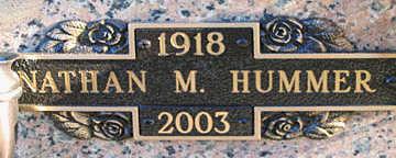 HUMMER, NATHAN M - Mohave County, Arizona | NATHAN M HUMMER - Arizona Gravestone Photos
