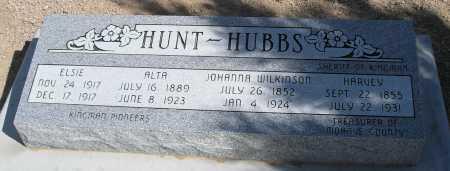 WILKINSON HUBBS, JOHANNA - Mohave County, Arizona   JOHANNA WILKINSON HUBBS - Arizona Gravestone Photos
