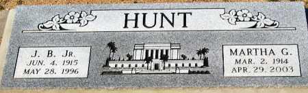 HUNT JR, J B - Mohave County, Arizona | J B HUNT JR - Arizona Gravestone Photos