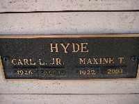 HYDE JR, CARL L - Mohave County, Arizona   CARL L HYDE JR - Arizona Gravestone Photos