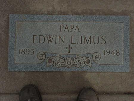 IMUS, EDWIN - Mohave County, Arizona | EDWIN IMUS - Arizona Gravestone Photos