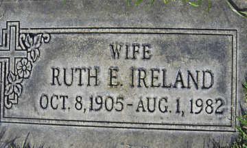 IRELAND, RUTH E - Mohave County, Arizona | RUTH E IRELAND - Arizona Gravestone Photos