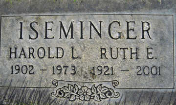 ISEMINGER, RUTH E - Mohave County, Arizona | RUTH E ISEMINGER - Arizona Gravestone Photos