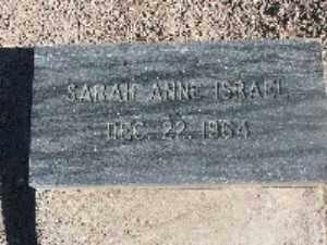 ISRAEL, SARAH ANNE - Mohave County, Arizona | SARAH ANNE ISRAEL - Arizona Gravestone Photos