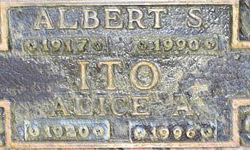 ITO, ALBERT S - Mohave County, Arizona   ALBERT S ITO - Arizona Gravestone Photos