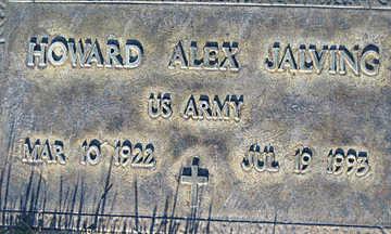 JALVING, HOWARD ALEX - Mohave County, Arizona | HOWARD ALEX JALVING - Arizona Gravestone Photos