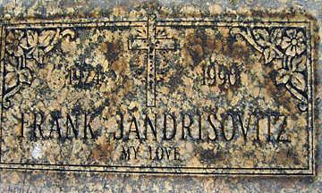 JANDRISOVITZ, FRANK - Mohave County, Arizona   FRANK JANDRISOVITZ - Arizona Gravestone Photos