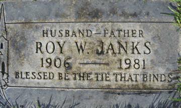 JANKS, ROY W - Mohave County, Arizona   ROY W JANKS - Arizona Gravestone Photos