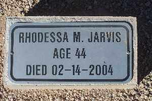 JARVIS, RHODESSA M - Mohave County, Arizona | RHODESSA M JARVIS - Arizona Gravestone Photos