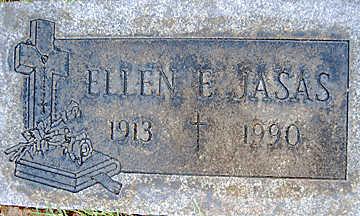 JASAS, ELLEN E - Mohave County, Arizona | ELLEN E JASAS - Arizona Gravestone Photos