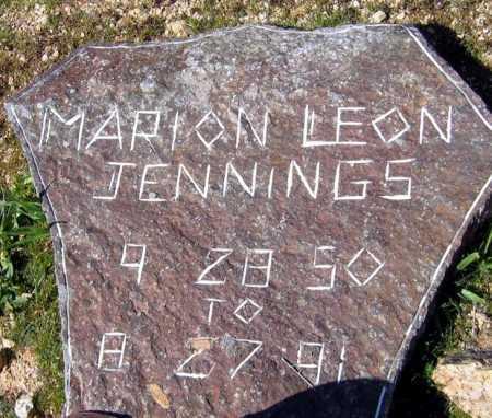 JENNINGS, MARION LEON - Mohave County, Arizona   MARION LEON JENNINGS - Arizona Gravestone Photos