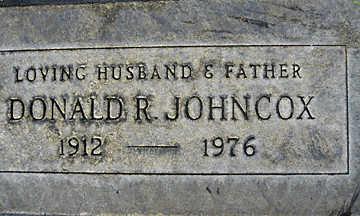 JOHNCOX, DONALD R - Mohave County, Arizona | DONALD R JOHNCOX - Arizona Gravestone Photos