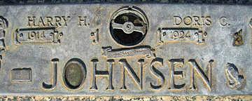 JOHNSEN, HARRY H - Mohave County, Arizona   HARRY H JOHNSEN - Arizona Gravestone Photos