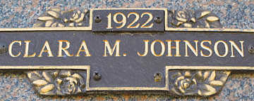 JOHNSON, CLARA M - Mohave County, Arizona | CLARA M JOHNSON - Arizona Gravestone Photos