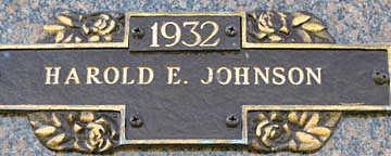 JOHNSON, HAROLD E - Mohave County, Arizona | HAROLD E JOHNSON - Arizona Gravestone Photos