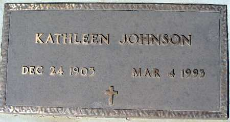 JOHNSON, KATHLEEN - Mohave County, Arizona   KATHLEEN JOHNSON - Arizona Gravestone Photos