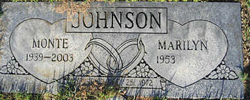 JOHNSON, MARILYN - Mohave County, Arizona | MARILYN JOHNSON - Arizona Gravestone Photos