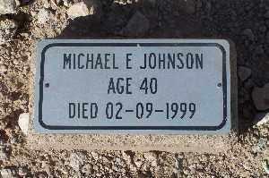 JOHNSON, MICHAEL E - Mohave County, Arizona | MICHAEL E JOHNSON - Arizona Gravestone Photos