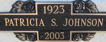 JOHNSON, PATRICIA S - Mohave County, Arizona | PATRICIA S JOHNSON - Arizona Gravestone Photos