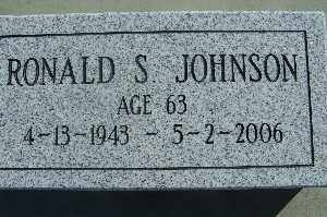 JOHNSON, RONALD S - Mohave County, Arizona | RONALD S JOHNSON - Arizona Gravestone Photos
