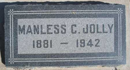 JOLLY, MANLESS C. - Mohave County, Arizona   MANLESS C. JOLLY - Arizona Gravestone Photos