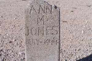 JONES, ANN M - Mohave County, Arizona   ANN M JONES - Arizona Gravestone Photos