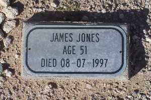 JONES, JAMES - Mohave County, Arizona | JAMES JONES - Arizona Gravestone Photos