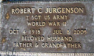 JURGENSON, ROBERT C - Mohave County, Arizona | ROBERT C JURGENSON - Arizona Gravestone Photos