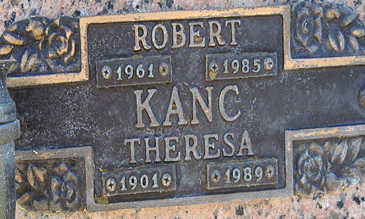 KANC, THERESA - Mohave County, Arizona | THERESA KANC - Arizona Gravestone Photos