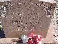 KANE, ETHEL W - Mohave County, Arizona | ETHEL W KANE - Arizona Gravestone Photos