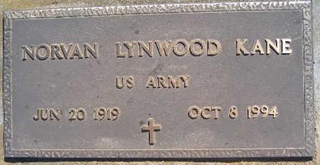 KANE, NORVAN LYNWOOD - Mohave County, Arizona | NORVAN LYNWOOD KANE - Arizona Gravestone Photos