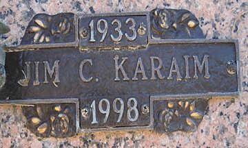 KARAIM, JIM C - Mohave County, Arizona | JIM C KARAIM - Arizona Gravestone Photos