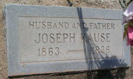 KAUSE, JOSEPH - Mohave County, Arizona | JOSEPH KAUSE - Arizona Gravestone Photos
