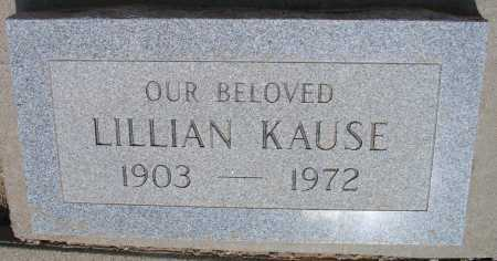 KAUSE, LILLIAN - Mohave County, Arizona | LILLIAN KAUSE - Arizona Gravestone Photos