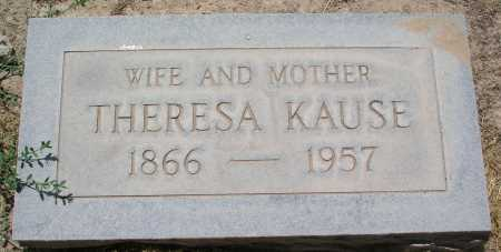 KAUSE, THERESA - Mohave County, Arizona | THERESA KAUSE - Arizona Gravestone Photos